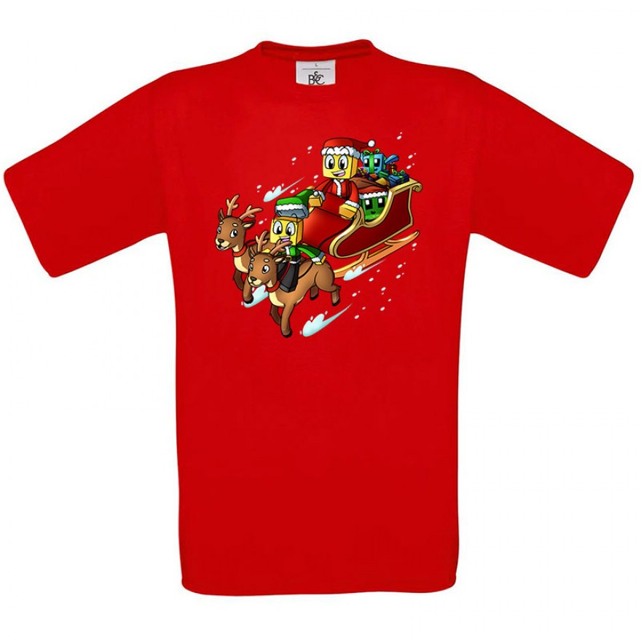SCHLITTEN Weihnachts-T-Shirt
