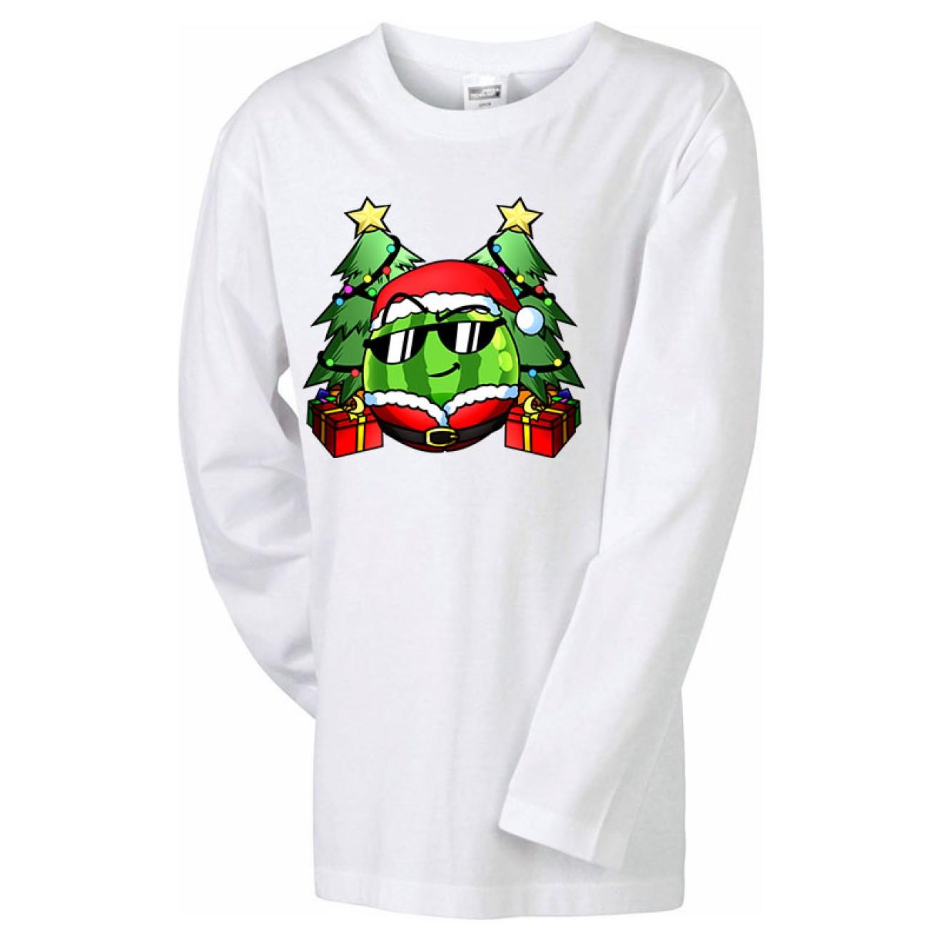 TEAM MELONE Weihnachts-Langarm-Shirt