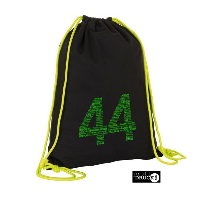 55d1fc5e06431 44green Turnbeutel. black neon lime