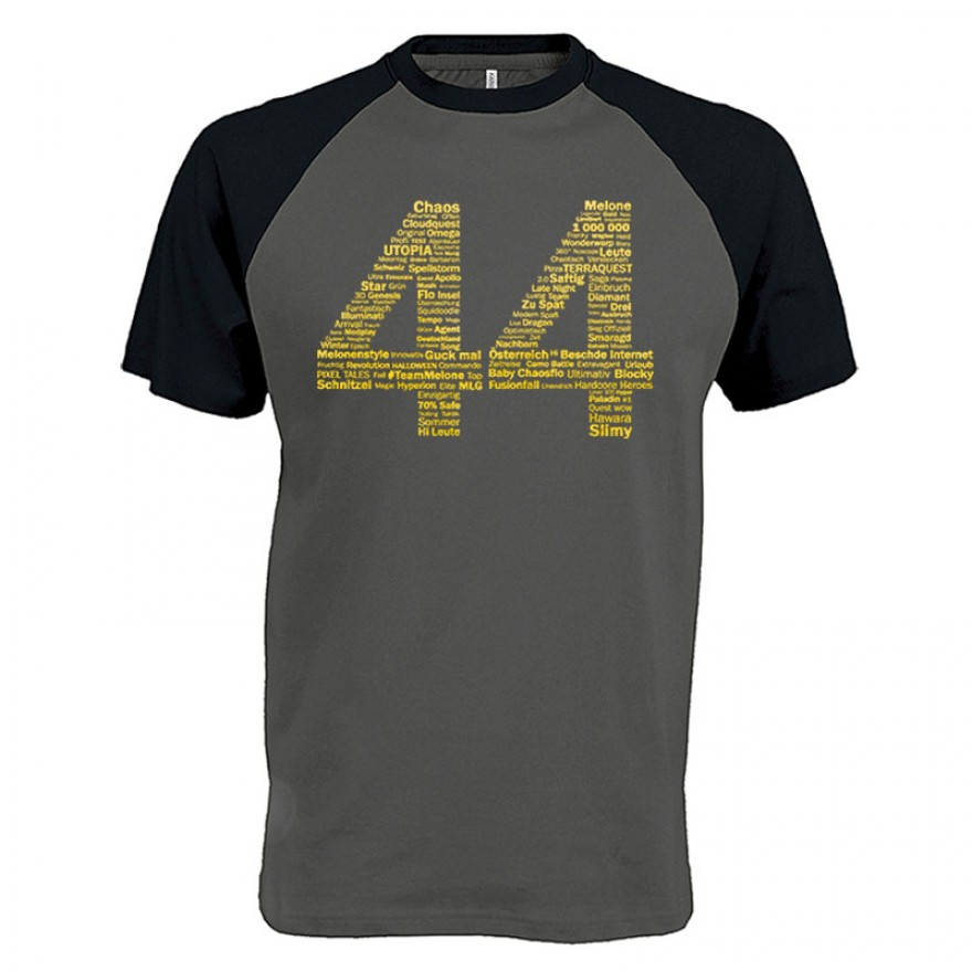 44GOLD Baseball T-Shirt