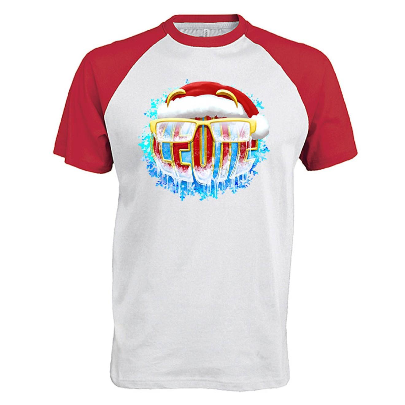 LEUTE Weihnachts-Baseball T-Shirt
