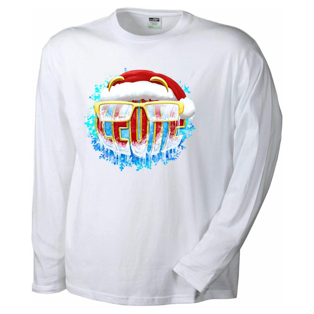LEUTE Weihnachts-Langarm-Shirt