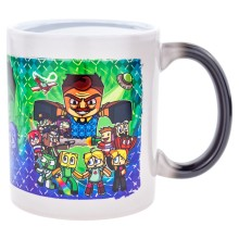 DIEB Magic-Tasse schwarz (Bi-Color)