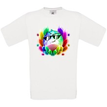 Team Melone Edelstein REGENBOGEN T-Shirt LOOSE FIT