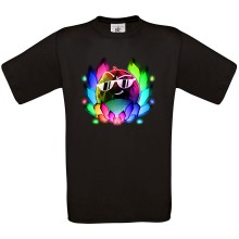 Team Melone DUNKEL-REGENBOGEN T-Shirt LOOSE FIT