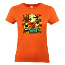 Halloween SCHOCK T-Shirt Girlie Shirt