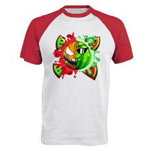 Halloween TEAM MELONE Baseball T-Shirt