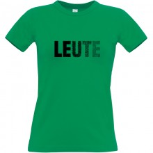 LEUTE T-Shirt Girlie Shirt | black