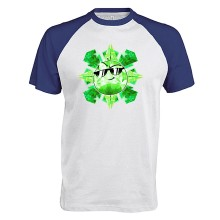 Team Melone SMARAGD Baseball T-Shirt
