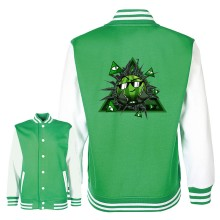 Team Melone ILLUMINATI College Jacke