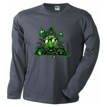 Team Melone ILLUMINATI Langarm-Shirt