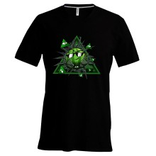 Team Melone ILLUMINATI T-Shirt V-Neck