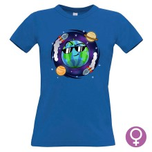 Team Melone WELTRAUM T-Shirt Girlie Shirt