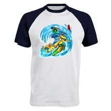 Sommer 2019 WELLE Baseball T-Shirt