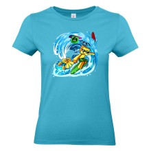 Sommer 2019 WELLE T-Shirt Girlie Shirt