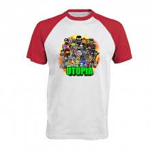 UTOPIA Baseball T-Shirt